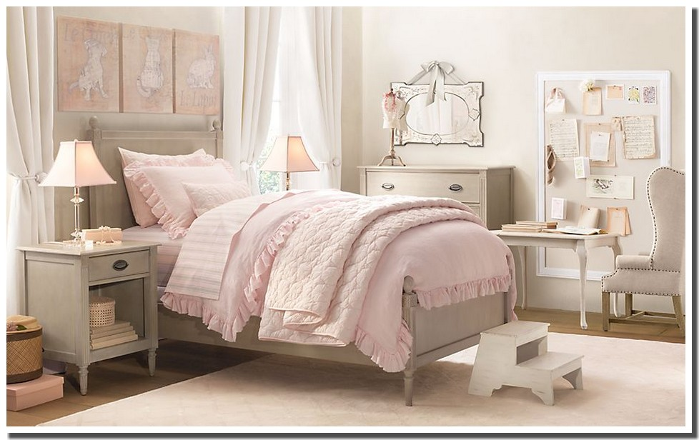 Best chambre romantique rose pale images design trends 2017