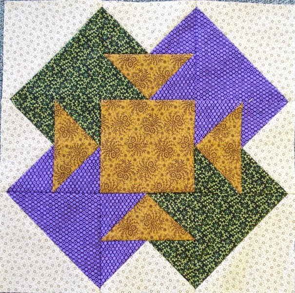 2015 #6 Second Saturday Sampler Block