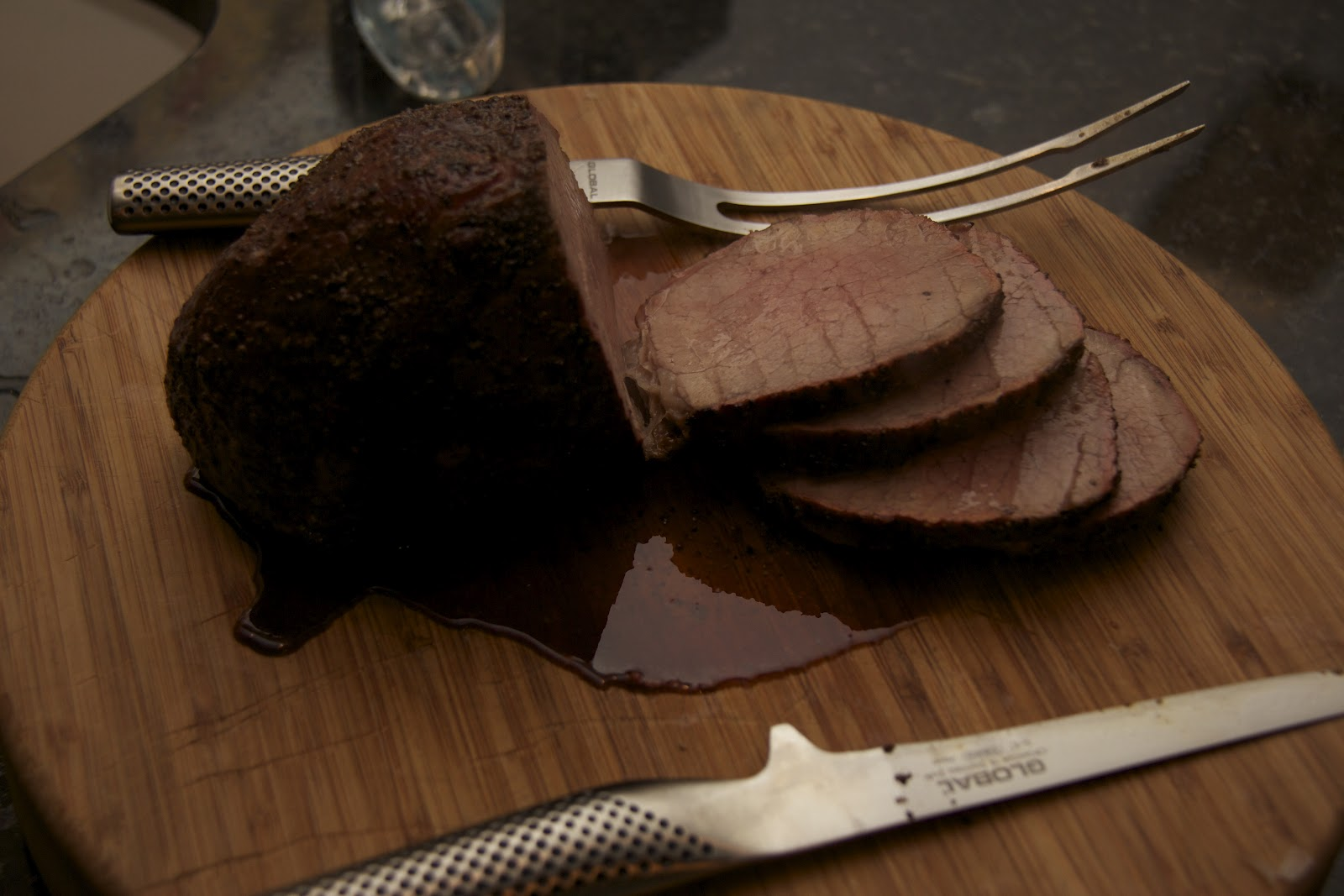 how to cook eye of round roast medium well