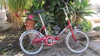 bh plegable niño roja rik rides