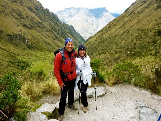 View Point on the Inca Trail to Dead Woman's Pass Peru