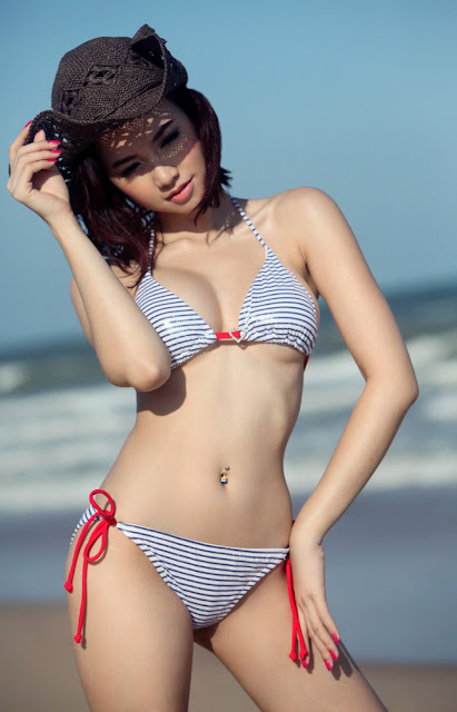 Vietnamese Model and Actress Dinh Ngoc Diep