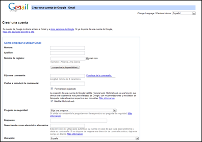 Cmo abrir una cuenta en gmail.com