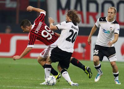 AC Milan 2 - 0 Viktoria Plzen (3)