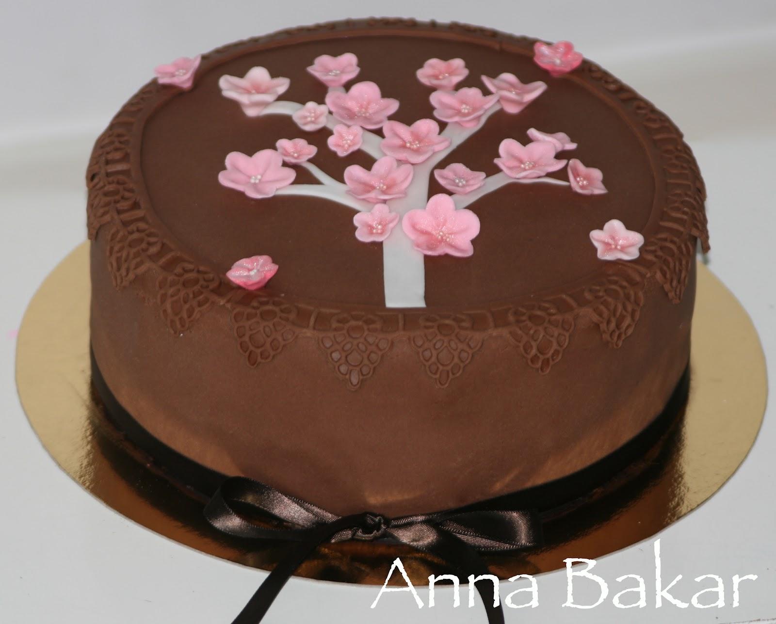 chokladfrosting tårta recept