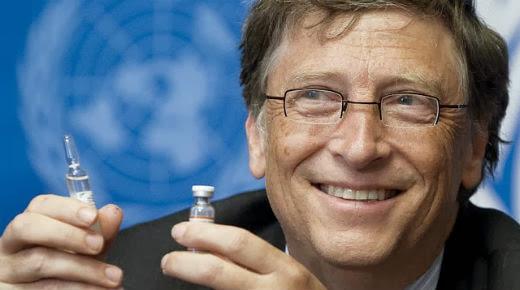 Bill Gates Las vacunas pueden ayudar a reducir la población mundial