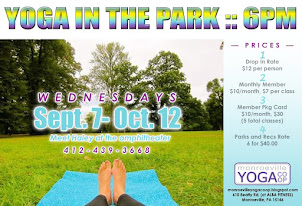 8 weeks of yoga in the park!