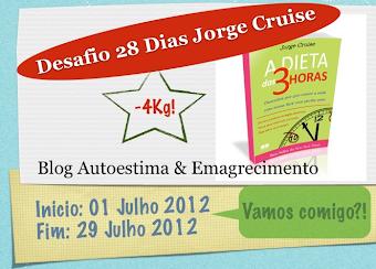 Desafio 28 Dias Jorge Cruise - Participe!