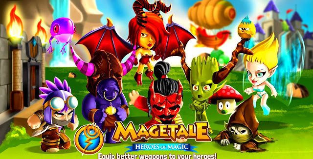 MageTale Hack Damage And Health Update 14/11/2015