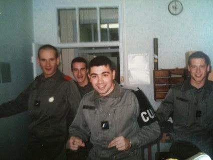 Jérôme à 19 ans (militaire )