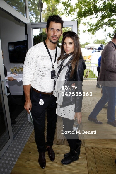 David Gandy Source Mercedes Benz Pavilion At The