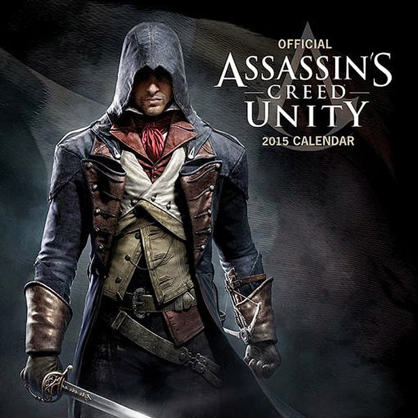 Calendario 2015 Assassins Creed Unity