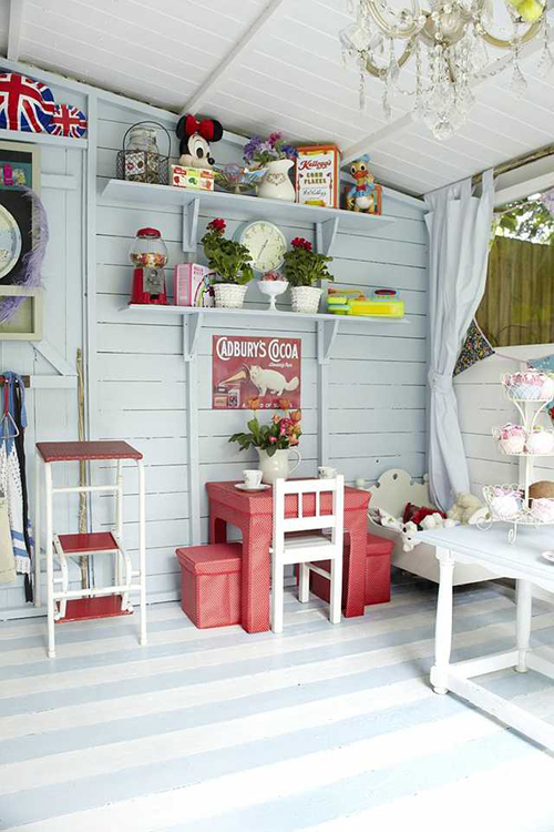 1000 ideas about craft shed on pinterest she sheds a shed and sheds Shabby chic style interieur