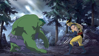 Hulk vs Wolverine Animated feature, animation DVD