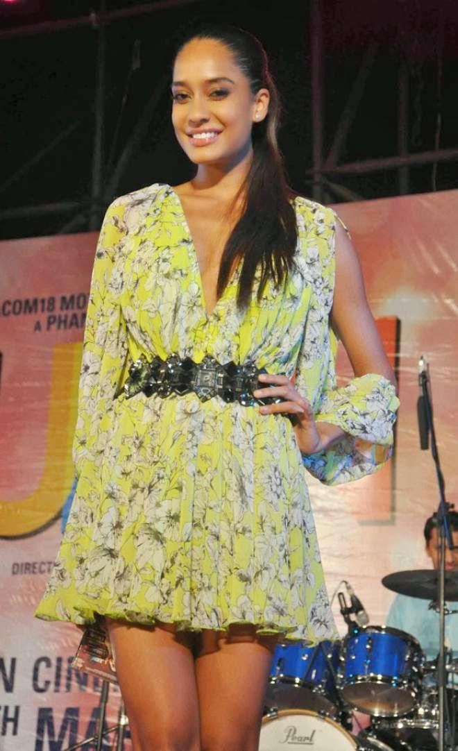 Lisa Haydon Hot Short Mini Dress Pics