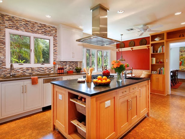 modern furniture 2014 colorful kitchens decorating ideas