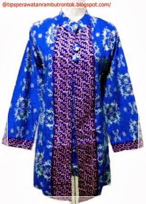 Gambar Model Baju Batik Wanita Modern Gambar Model Baju