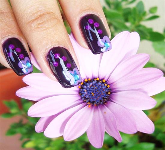 super eye tricks 3d nails rancho short nails with polish hello