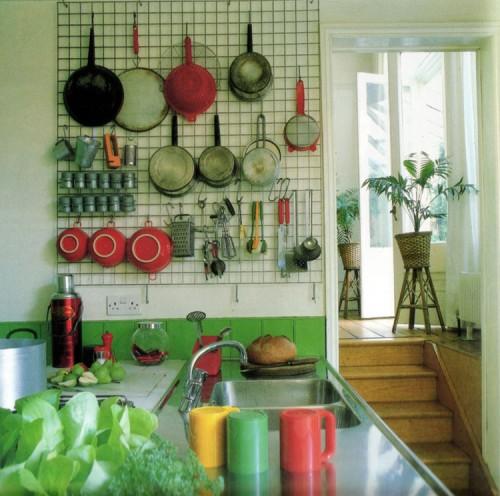 Pegboard Kitchen Storage: Interior Design Q & A: Kitchen Storage Solutions