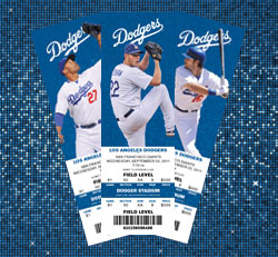 How to buy Los Angeles Dodgers tickets. SeatGeek is the best way to browse, find, and buy Los Angeles Dodgers tickets. Browse the above listings of Dodgers games to find a game you would like to attend. Once you find the perfect date and matchup, click on the green button on the right hand side of the screen to see all available tickets for.