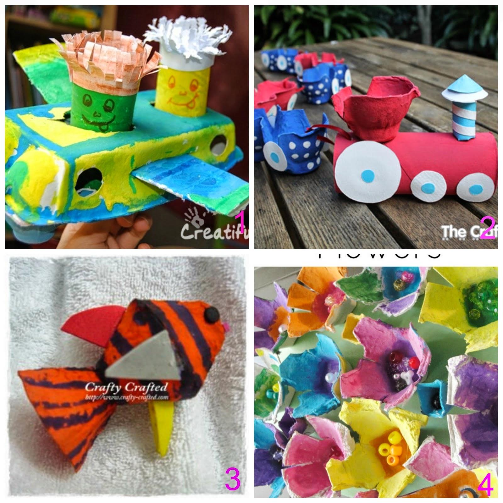 Preferenza Mamma Aiuta Mamma: Lavoretti creativi per bimbi con materiali  NL07