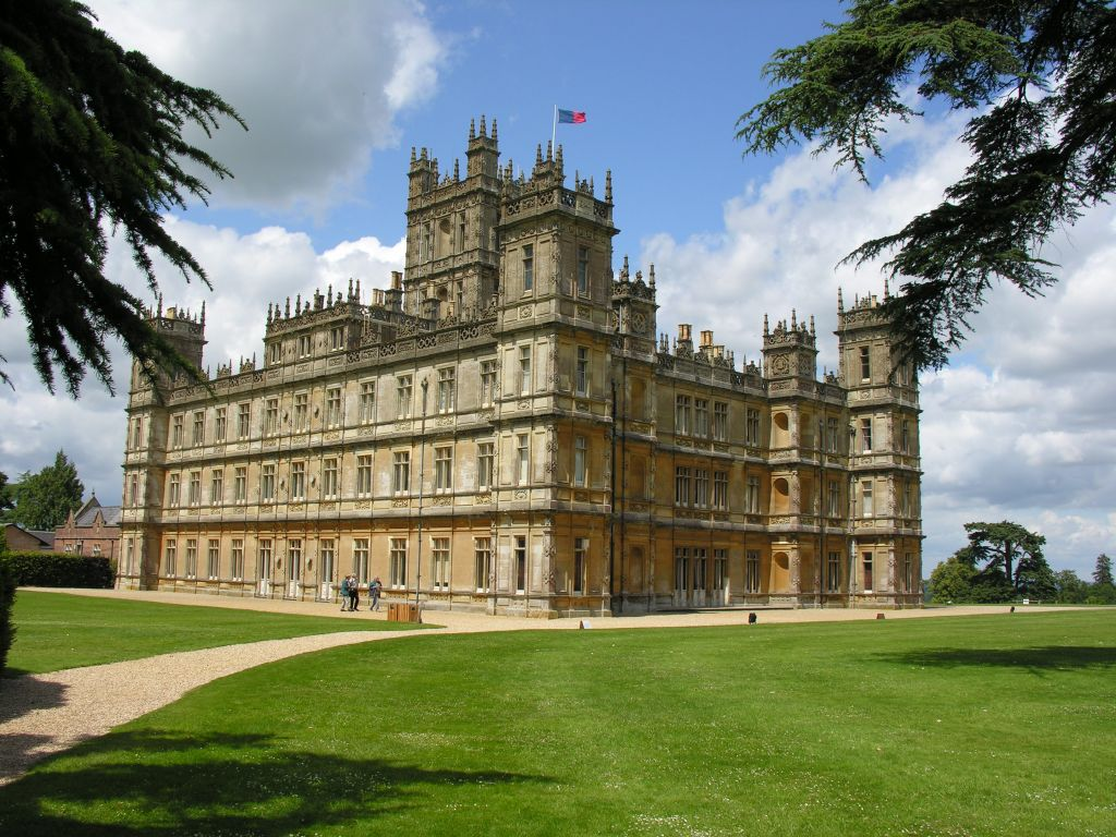 Future Home Of Victorian Swag: Highclere Castle