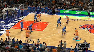 Knicks Court Patch NBA 2K14 Mod