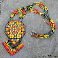 схемы бисероплетение мозаичное плетение пейлот кулон free peyote patterns
