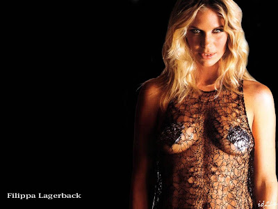 Hollywood Star Filippa Lagerback Hot Wallpaper