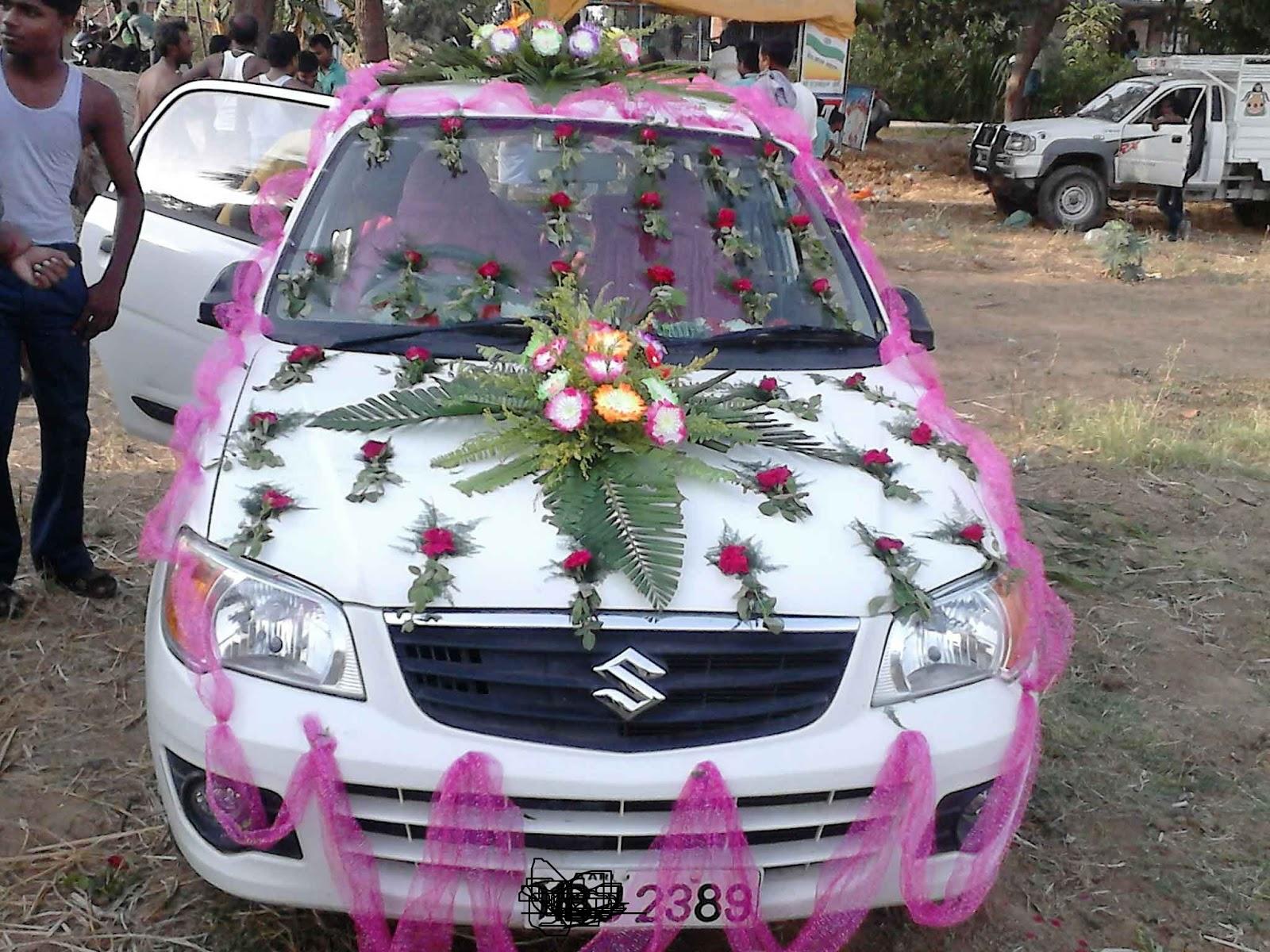 Wedding Car Decorators in Gurgaon Delhi NCR: wedding car decoration on