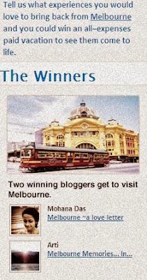 Melbourne winner