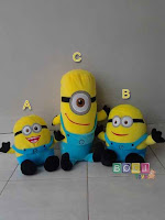 Boneka Papoy Minion Despicable Me