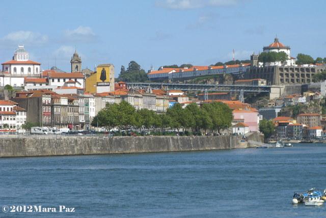 Zona ribeirinha, Ponte D. Luis, Serra do Pilar