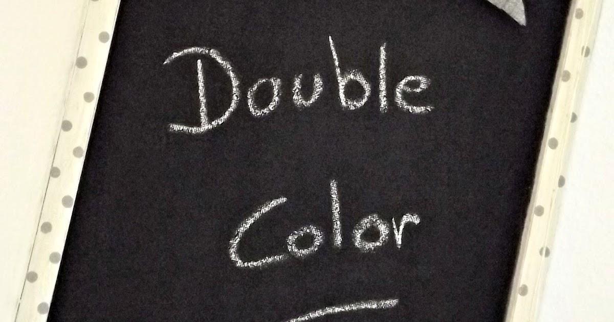 Double color bianco grigio framed chalkboard ma - Ma petite maison com ...