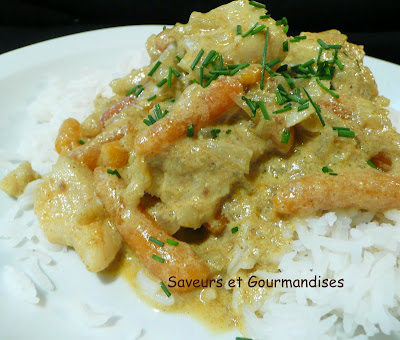 Curry au poisson (express)