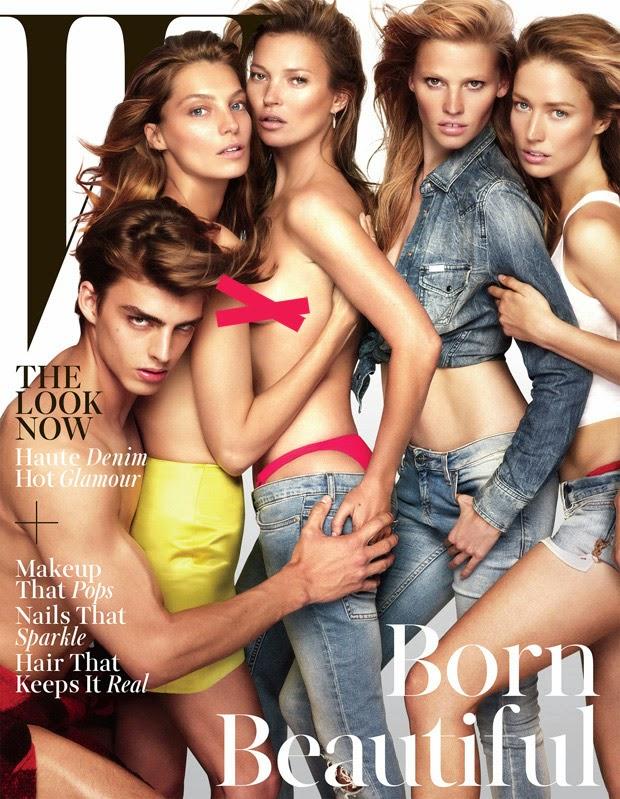 Supermodels Cover W Magazine November 2014