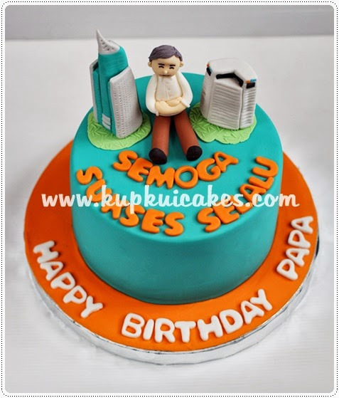 Kupkui Cakes: birthday cake for papa