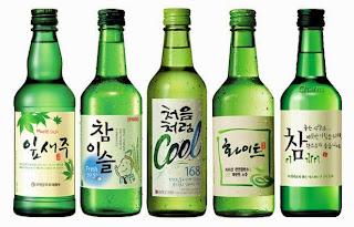 Berbagai Merk Soju Di Korea