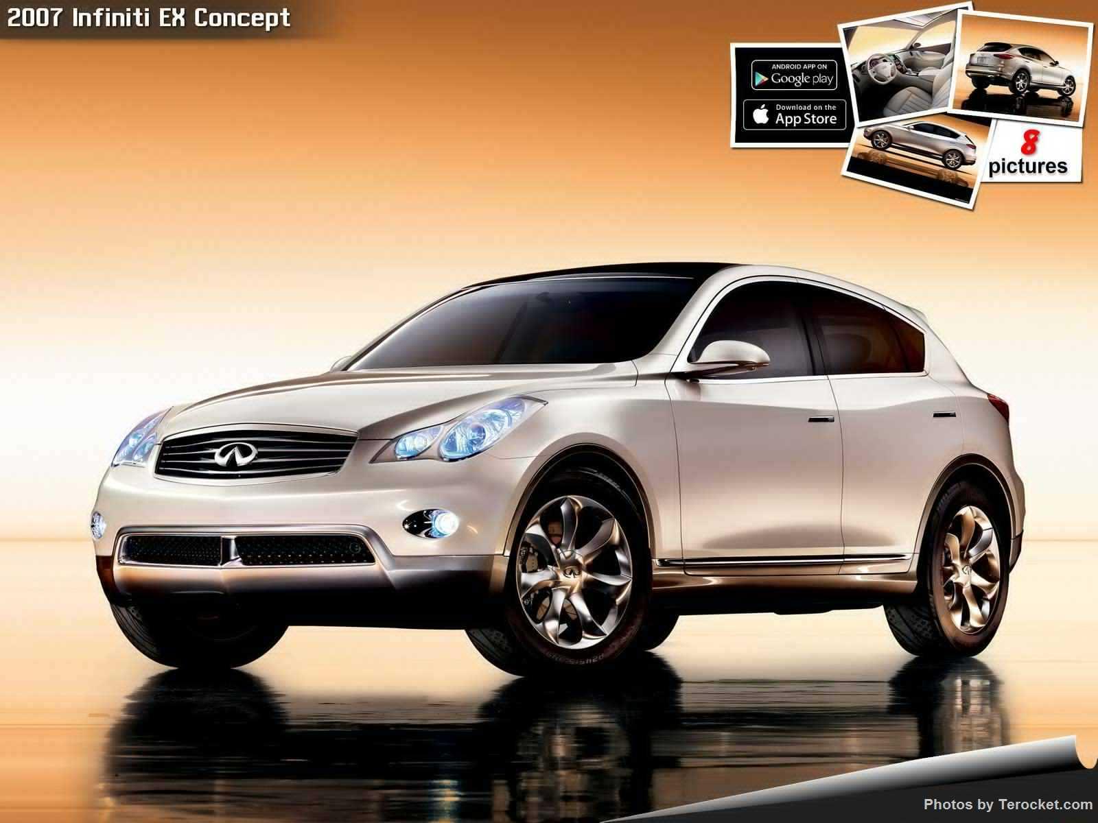 Hình ảnh xe ô tô Infiniti EX Concept 2007 & nội ngoại thất