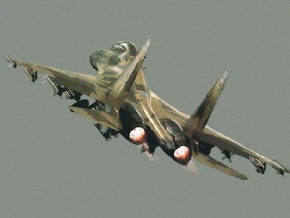 Su-30 Long-Range Interceptor Fighter