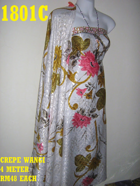 CW 1801C: CREPE WANGI, 4 METER