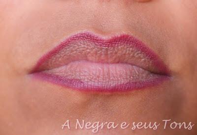 Delineador para lábios Impala cor vinho