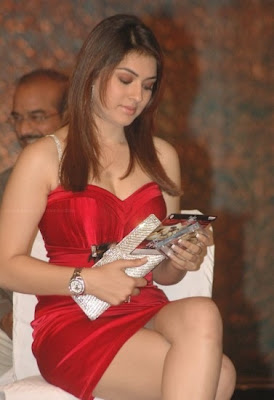 Actress Hansika Motwani hot stills