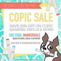 25% Off Copics