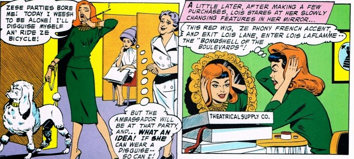 Lois Lane vs Lois LaFlamme and Fifi the Wonder Poodle