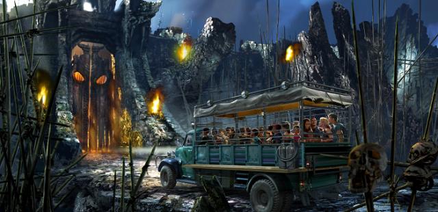 Skull Island: Reign of KIng Kong Universal Orlando