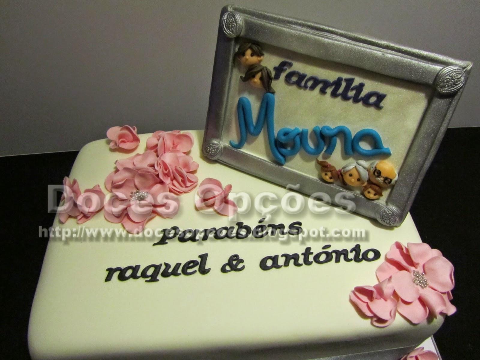 Bolo aniversário Família Moura