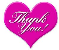 Merci à tous mes fans sur Facebook, abonnés et visiteurs de mon blog ...