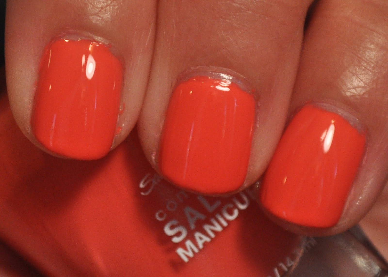 cats adventures in lacquer land sally hansen coral fever