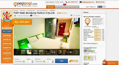 Pesta Diskon Ulang Tahun PegiPegi.com Pilih Hotel Sesukamu